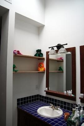 洗面所,棚